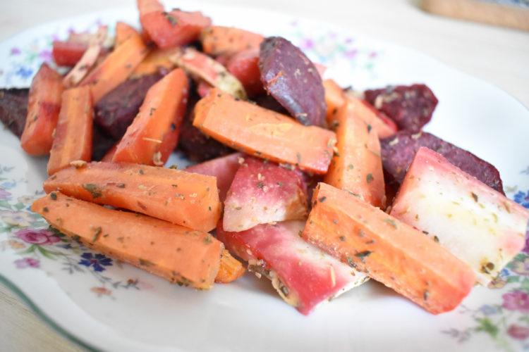 Pieczone warzywa (raczkujac.pl)
