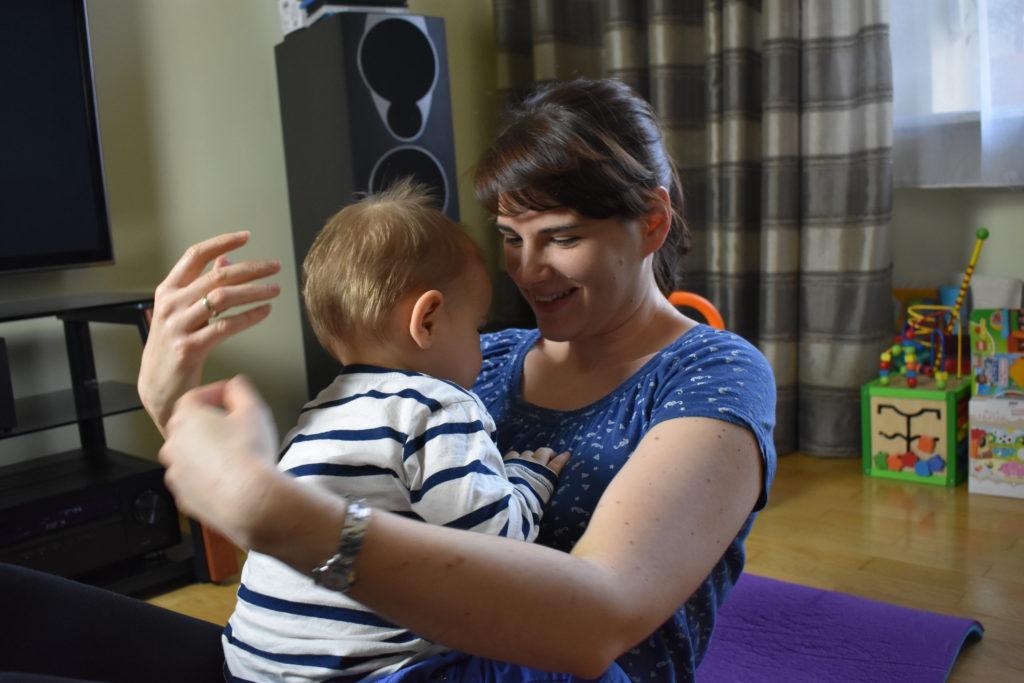 Ćwiczenia z dzieckiem 5 (raczkujac.pl)