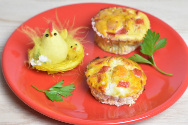 Muffinki jajeczne (raczkujac.pl)
