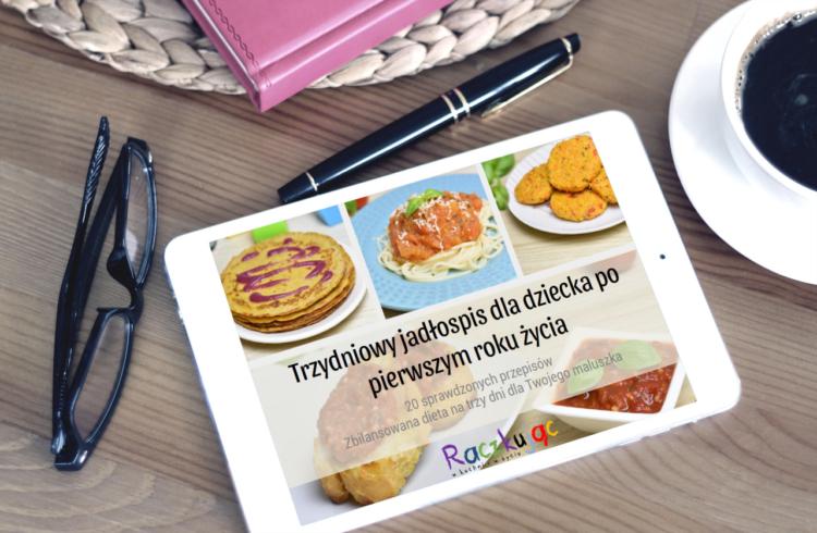 eBook Jadłospis na 3 dni (www.raczkujac.pl)