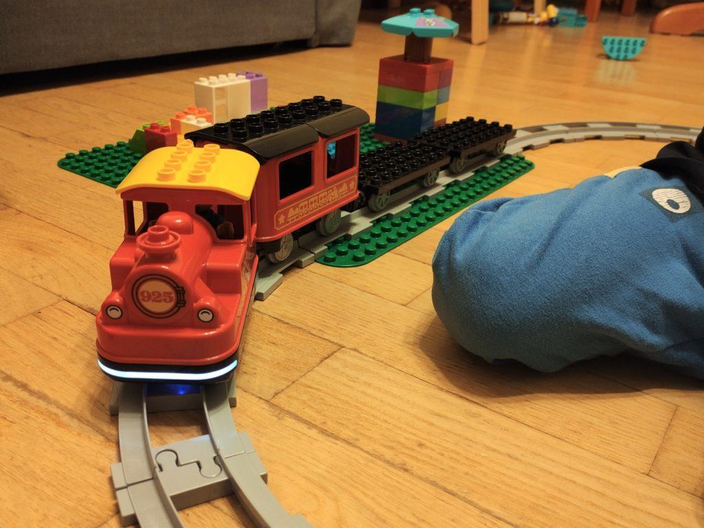 Pociąg Parowy Lego Duplo