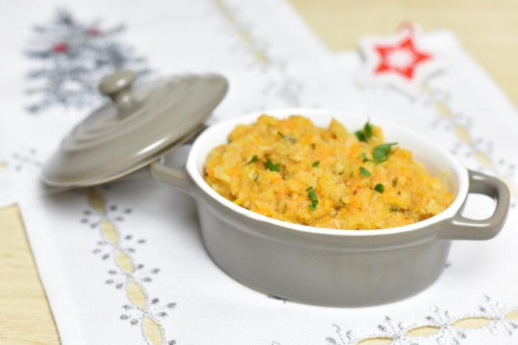 Duszony dorsz w warzywach (raczkujac.pl)