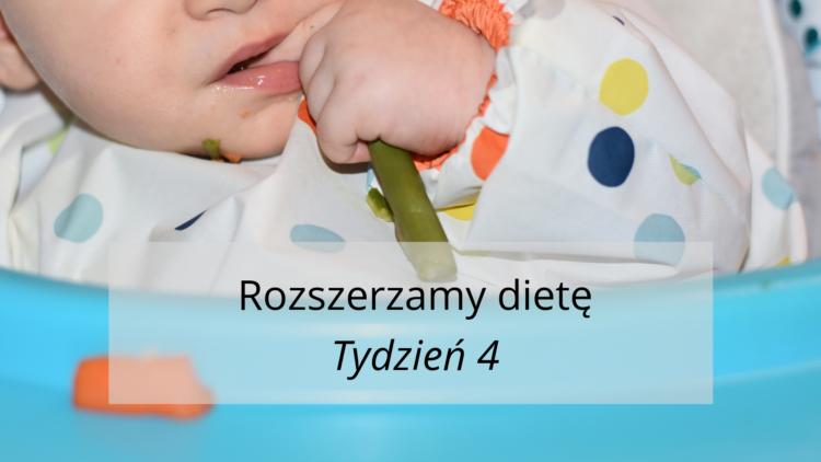Rozszerzanie diety tydzień 4 (raczkujac.pl)