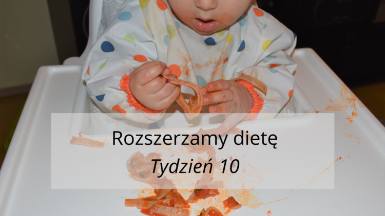 Rozszerzanie diety tydzień 10 (raczkujac.pl)