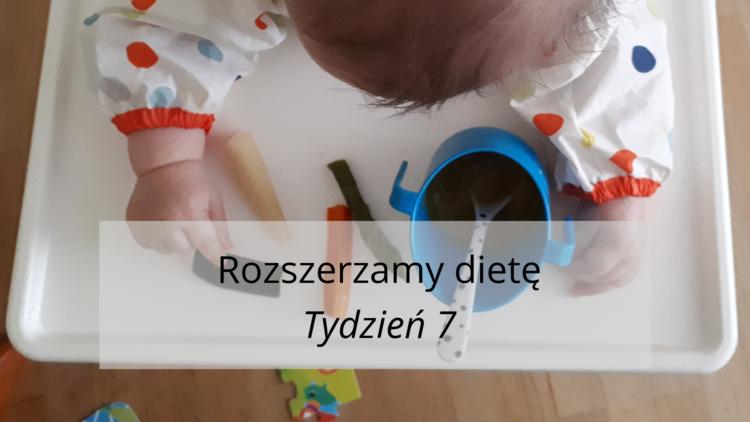 Rozszerzanie diety tydzień 7 (raczkujac.pl)
