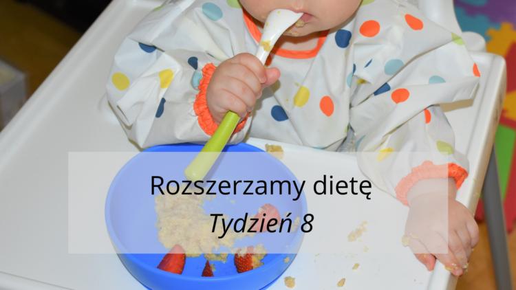 Rozszerzanie diety tydzień 8 (raczkujac.pl)
