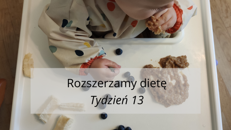 Rozszerzanie diety tydzień 13 (raczkujac.pl)