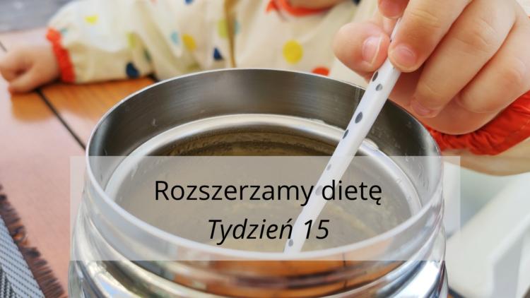 Rozszerzanie diety tydzień 15 (raczkujac.pl)