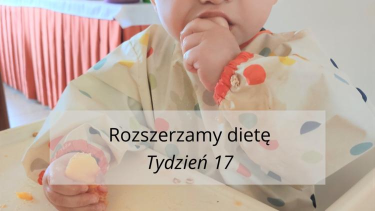 Rozszerzanie diety tydzień 17 (raczkujac.pl)