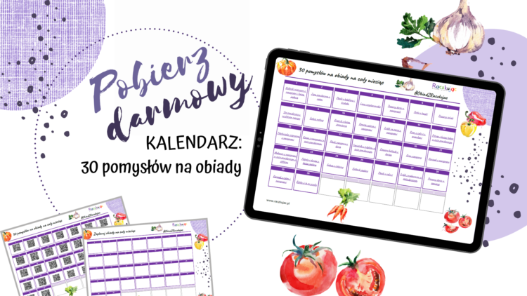 Kalendarz 30 obiadów (raczkujac.pl)